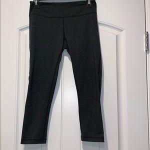 ZELLA crop leggings with side mesh